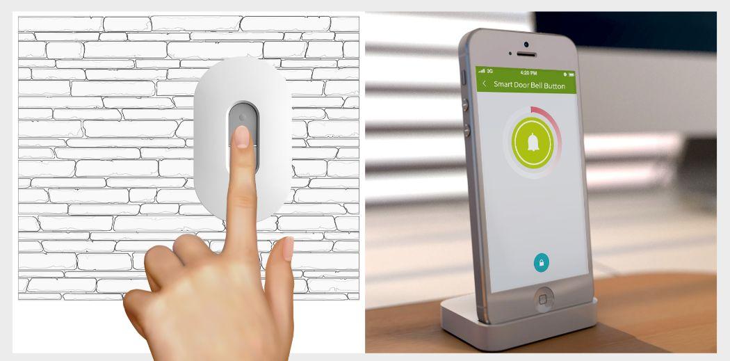Smart Door Bell button